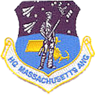 Massachusetts Air National Guard - Shield of the Massachusetts Air National Guard