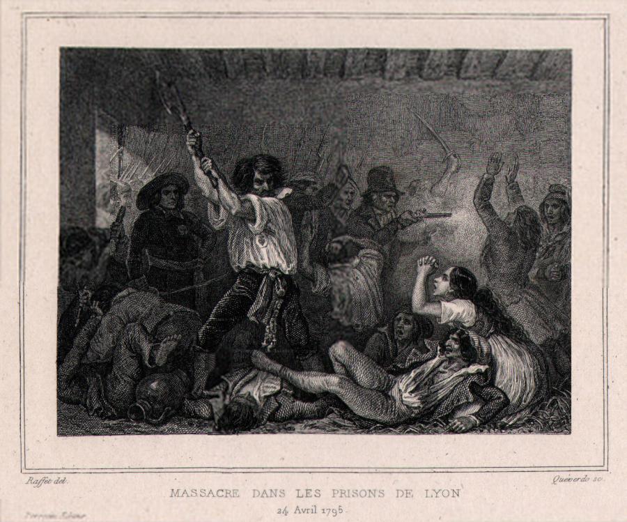 Massacre dans les prisons de Lyon 24 avril 1795