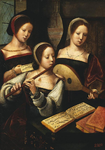 Master of Female Half-length - Concert of Women - 1530-40.png