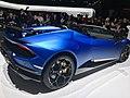 Matte Blue Lamborghini Huracan Performante Spyder (Ank Kumar, Infosys) 01.jpg