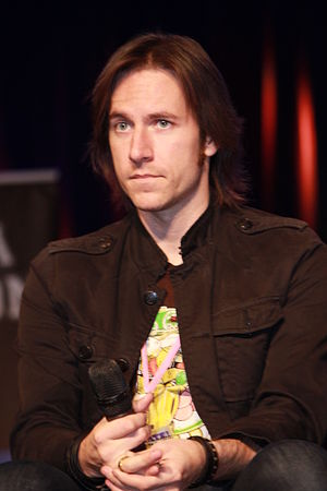 Matthew Mercer - Mercer at Animate Miami in 2014