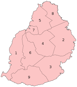 Mauritius districts numbered.svg
