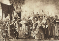 Maurycy Gottlieb - Livonian Brothers of the Sword do homage to Polish king - 1557.png