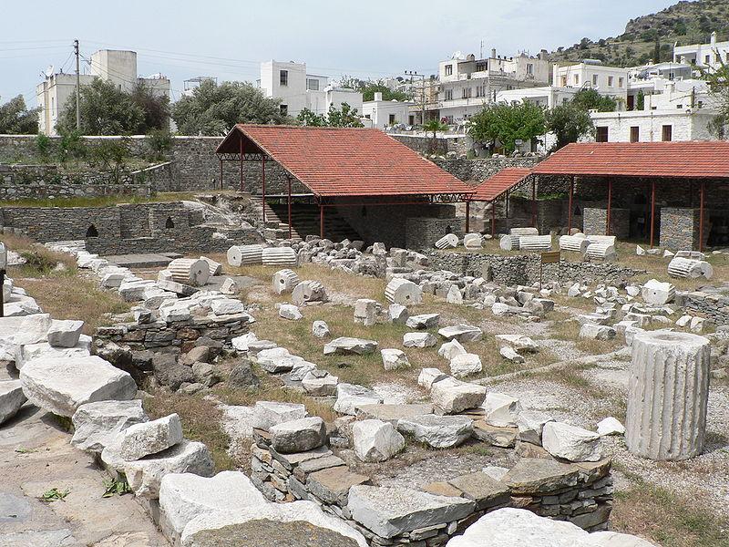 Image:Mausoleum of Maussollos ruins.JPG