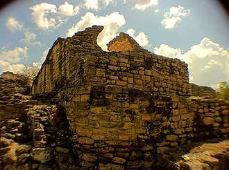 Kohunlich - Image: Mayan Ruin at Kohunlich