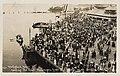 Mayflower passengers landing on New England Day at the Alaska-Yukon-Pacific Exposition, Seattle, September 11, 1909 (MOHAI 8632).jpg