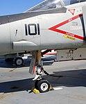 McDonnell Douglas F-4N Phantom front fuselage detail, Intrepid Sea, Air and Space Museum, New York. (45910115944).jpg