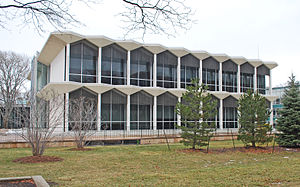 McGregor Memorial Conference Center - Image: Mc Gregor Center Wayne State Univ B