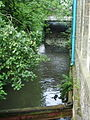 Mearley Brook as it flows along Stalwart Carpet Works - geograph.org.uk - 918566.jpg