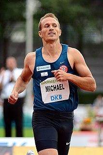 Michael Schrader German decathlete