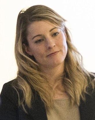 Minister of Canadian Heritage - Image: Melanie Joly