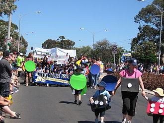 Melton, Victoria - Djerriwarrh Festival parade