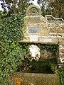 Memorial drinking fountain and watering hole near Hempsyke Farm - geograph.org.uk - 258696.jpg