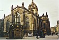 Mercat Cross and St Giles Cathedral. - geograph.org.uk - 156937.jpg