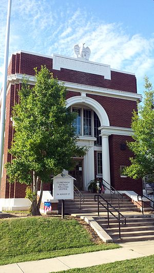Clarendon, Arkansas - The Merchants and Planters Bank was built in 1921 and designed by Charles L. Thompson