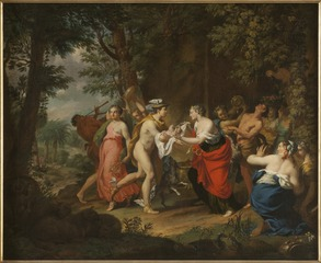 Mercury Confiding the Child Bacchus to the Nymphs on Nysa