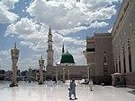 La mosquée du Prophète (Masjid al-Nabawi)