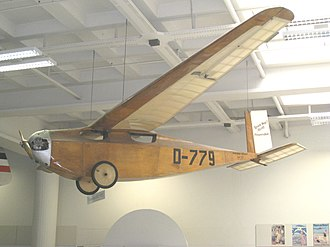 Messerschmitt M 17 - Messerschmitt M17 in the Deutsches Museum, Munich