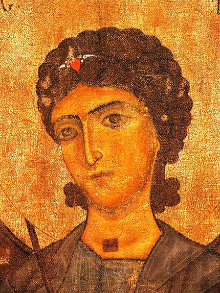 12th-century depiction, Georgian National Museum - Gabriel