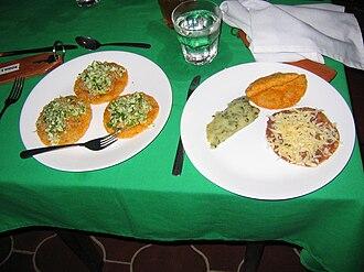 Belizean cuisine - Traditional Mestizo-Belizean foods.