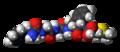 Met-enkephalin molecule spacefill.png