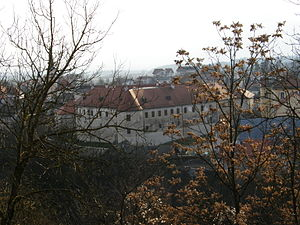 Metlika Castle - Metlika Castle, seen from Veselica Hill