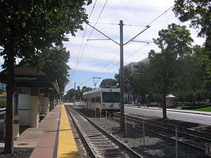 Metro/Airport station - Metro/Airport Station platform, 2012