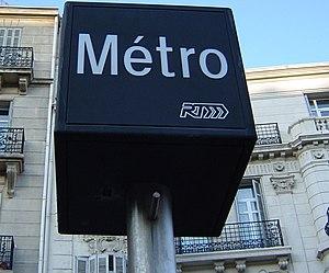 Marseille Metro - Image: Metro Marseille Metro Logo flickr