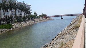 Mezitli River - Mezitli River, river mouth