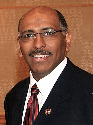 300px Michael Steele Former RNC Chairman Michael Steele Mulling Maryland Gubernatorial Bid