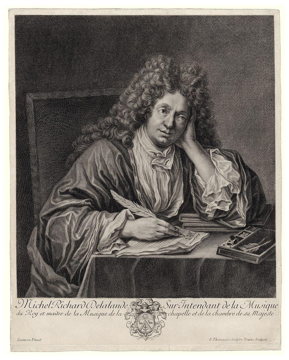 Michel Richard Delalande engraving BNF Gallica