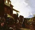 Michelangelo Cerquozzi - Street Scene in Rome - WGA4658.jpg