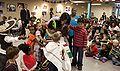 Michelle Obama at Latin American Montessori Bilingual Public Charter School 5-4-09 2.jpg