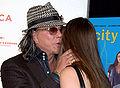 Mickey Rourke greeting Dominic Garcia-Lorido 2009.jpg