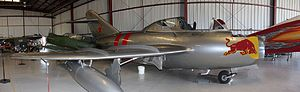Mikoyan-Gurevich MiG-15 - MiG-15 UTI Trainer version, Chino Planes of Fame Air Museum