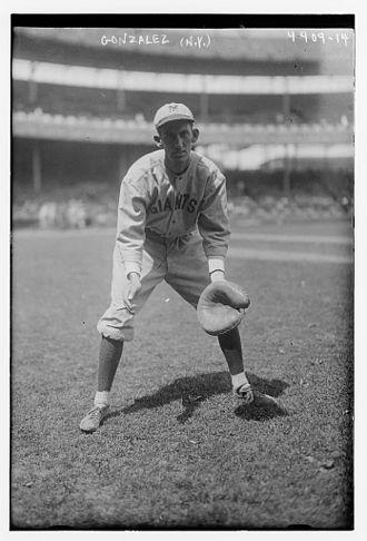 Mike González (catcher) - Image: Mike Gonzalez NY Giants
