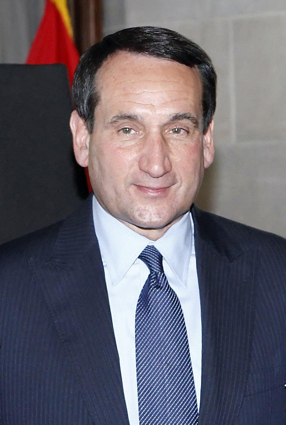 Mike Krzyzewski in 2011 (cropped)