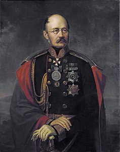 M. D. Gorčakov ritratto da Francesco Saverio Kaniewski
