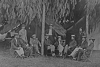 Telegraph troops - Telegraphists in the American Civil War, 1865