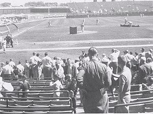 Milwaukee County Stadium - County Stadium, September 1960