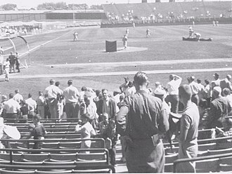 Milwaukee County Stadium - County Stadium, September 1960