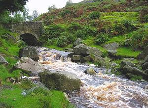 Hebden, North Yorkshire - Miners' Bridge over Hebden Beck