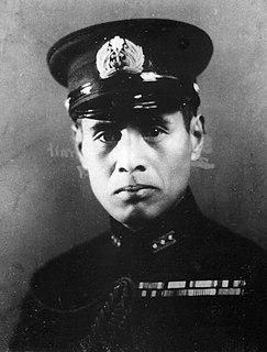 Minoru Genda Japanese aviator (1904-1989)