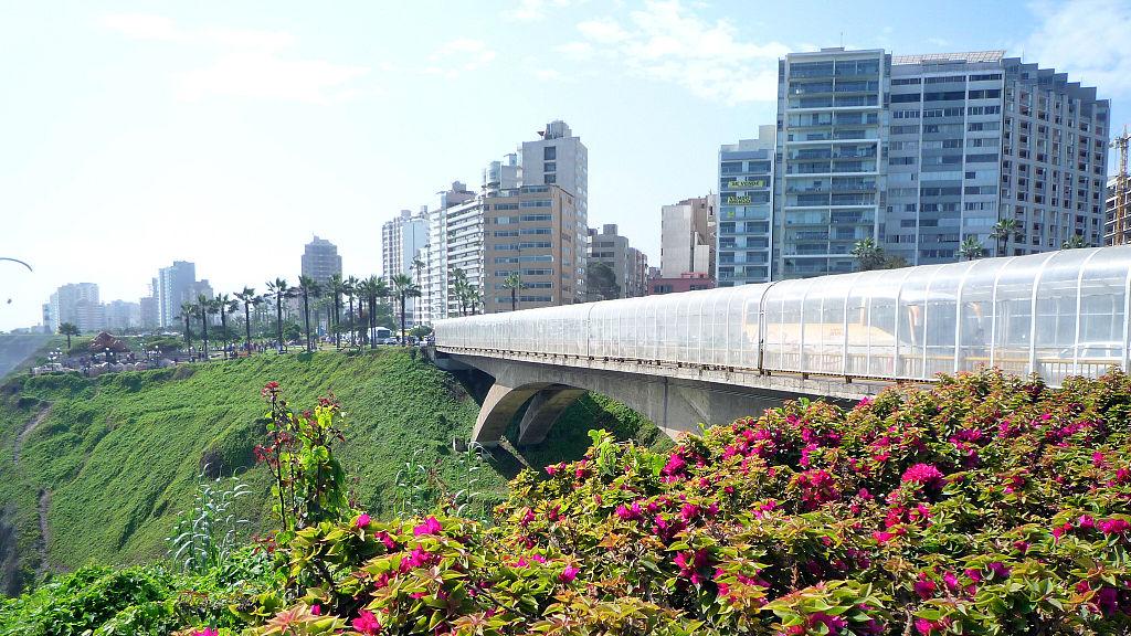 Miraflores Lima Peru skyline