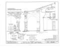 Mission San Juan Capistrano, Olive Street, between U.S. Highway 101 and Main Street, San Juan Capistrano, Orange County, HABS CAL,30-SAJUC,1- (sheet 23 of 40).png