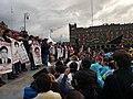 Mitin en el Zócalo Marcha Cuarto Aniversario Ayotzinapa.jpg