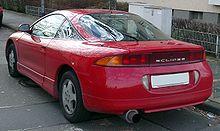 Pre Facelift Mitsubishi Eclipse Coupe Rear