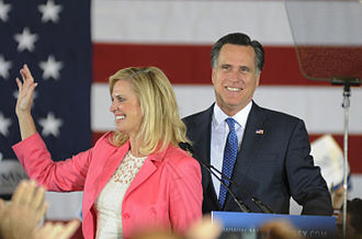Romney family - Image: Mitt Romney Super Tuesday