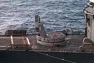 Mk 13 GMLS aboard USS Doyle (FFG-39)
