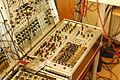 Modular synthesizer with MakeNoise modules, Hamburger Soundstammtisch, March 2011.jpg